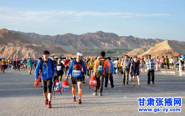 张掖:祁连山超百公里山地户外运动挑战赛激情开赛