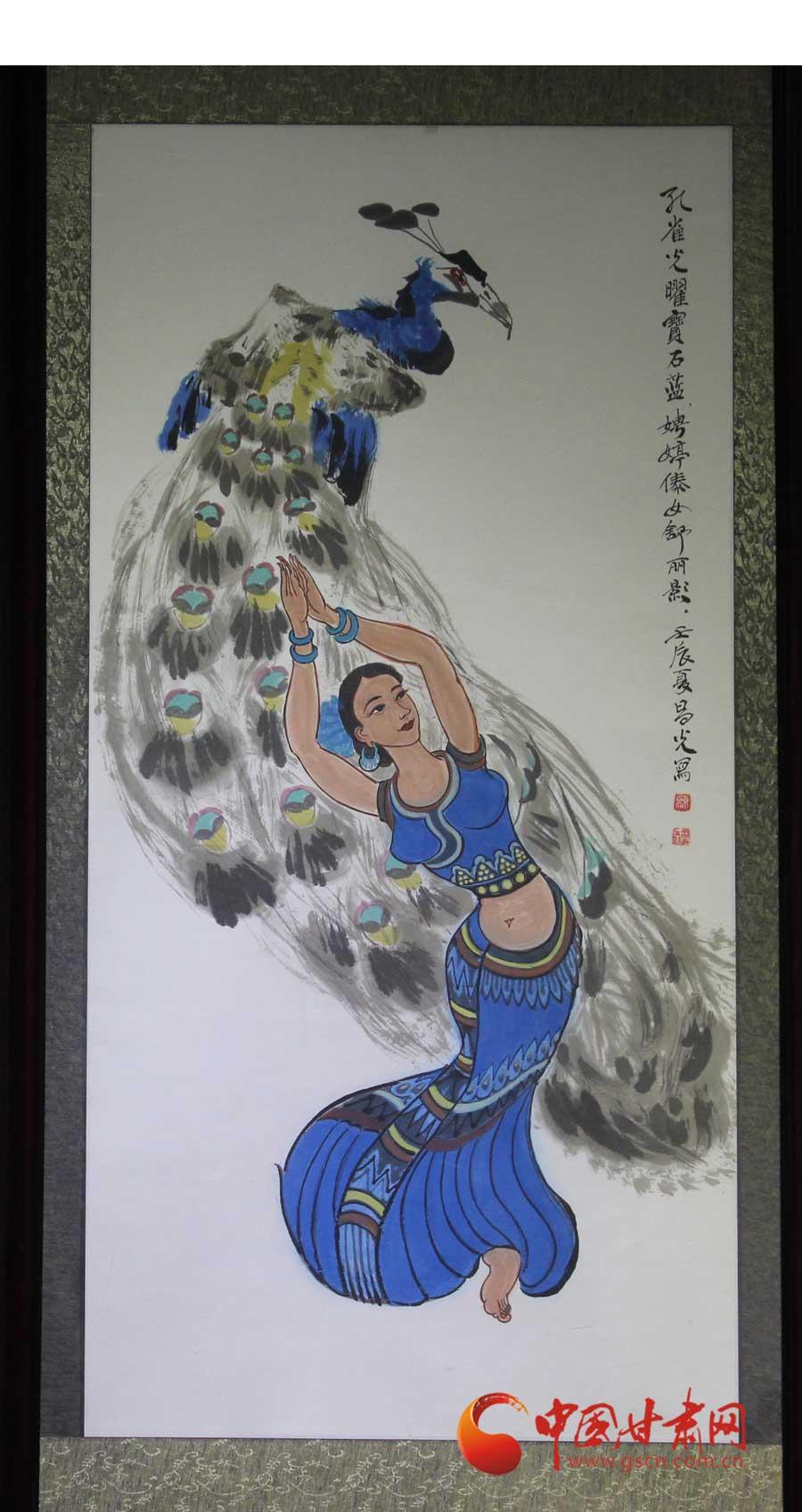 第二届丝路·长城(国际)音乐文化节之甘肃当代书画收藏展【高清组图】图片