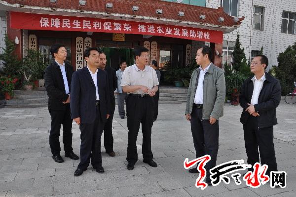 """天水市政协主席宋尚有:发挥职能 更好地服务保障""""三农"""""""
