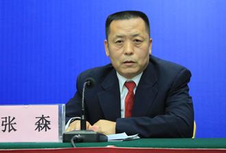省扶贫办党组成员、副主任张森