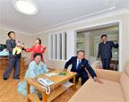 朝鲜科学家迁新居