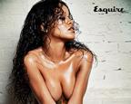 蕾哈娜全裸出镜登《Esquire》封面