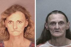 系列照揭示吸毒者面容巨变