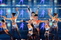 2014全国健美操冠军赛落幕