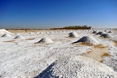 大漠戈壁美丽盐池