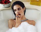 莎拉·桑帕约《VOGUE》演绎珠宝大片