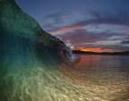 澳摄影师追逐风浪 拍摄震撼海滩美景