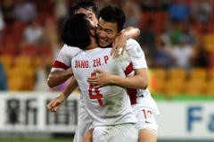 亚洲杯 中国队晋级八强