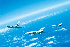 军媒公开中国三大舰队西太演习画面