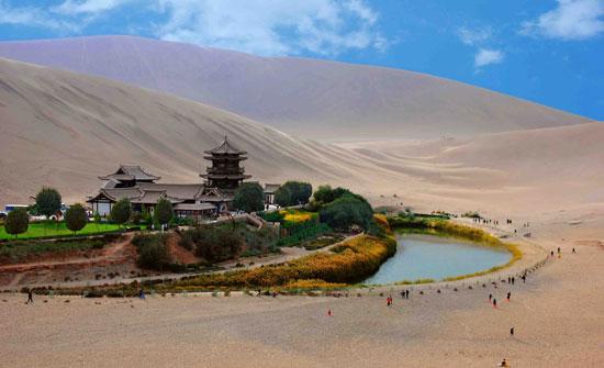 甘肃:加快向西开放步伐 推动丝绸之路经济带建设