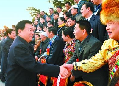 甘肃省民族工作会议暨第七次全省民族团结进步表彰大会召开