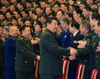 习近平接见全军外事工作会议和武官工作会议代表