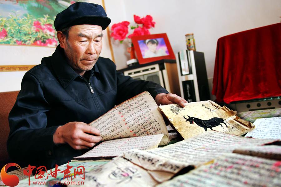 """张掖非物质文化遗产""""河西宝卷""""回归百姓文化生活(高清组图)"""