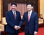 孟建柱会见泰国国家安全委员会秘书长阿努西