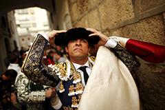 西班牙顶级斗牛士表演