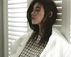 韩女星郑恩彩画报化身春之女神
