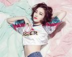 韩国性感女模池依秀拍写真 牛仔热裤秀小蛮腰
