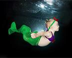 萌死人!摄影师拍婴儿水下囧照