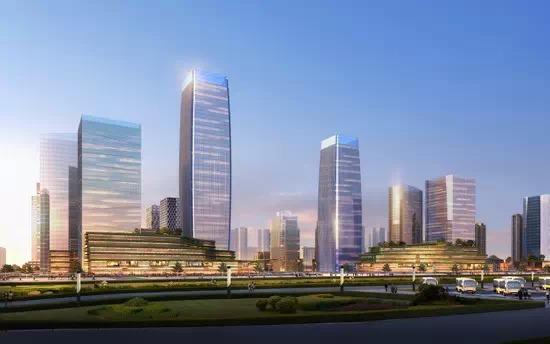 兰石CBD规划详情曝光 拟建西北最大城市综合体