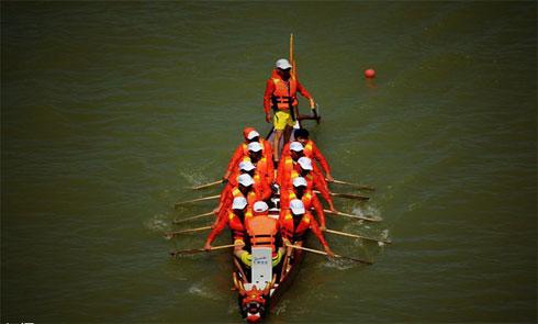 天水市端午节龙舟大赛将于6月20日举行(组图)