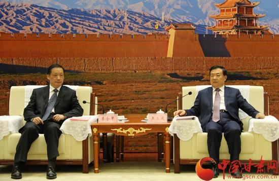王三运刘伟平冯健身会见国家旅游局局长李金早