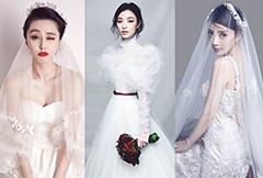 女明星婚纱造型PK