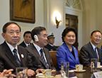 美国总统奥巴马会见刘延东、汪洋、杨洁篪