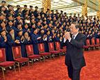 俞正声会见中国道教协会第九次全国代表会议代表