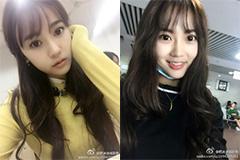 最美浙传童颜校花