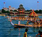2015中国龙舟赛天水站8月3日开划