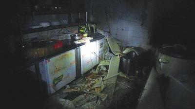 兰州一食府后堂发生燃爆 致5人受伤