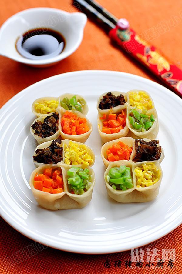 四喜饺子的做法介绍及步骤