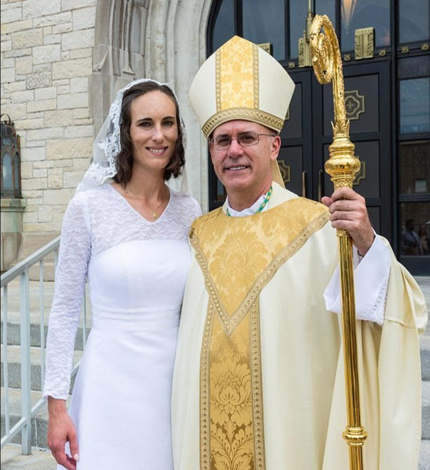 女子与耶稣结婚