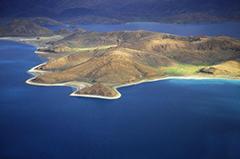 大美西藏鸟瞰羊湖