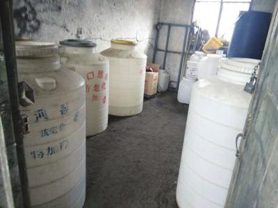 兰州城区2.5吨甲醇私藏仓库被查获