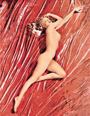 玛丽莲梦露的裸体照在美国拍卖预计估价600万美元