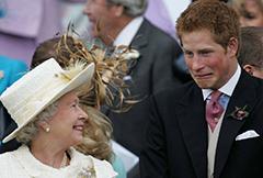 庆祝哈里王子31岁生日呆萌有趣照片被曝光
