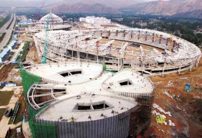 临夏奥体中心将于2016年建成使用