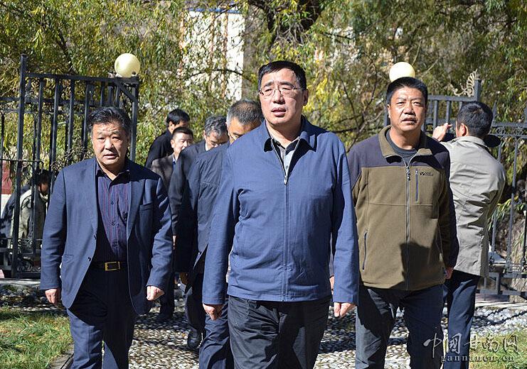 甘肃副省长杨子兴深入卓尼县双联联系点调研工作