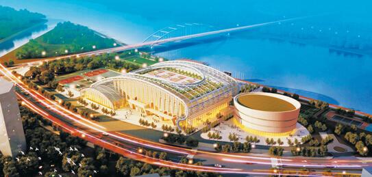 2亿改造体育公园