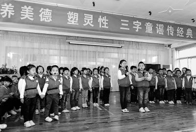 兰州市幼儿园举办诗歌朗诵会(图)