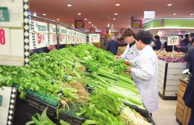兰州主城抽样检测商超销售农产品