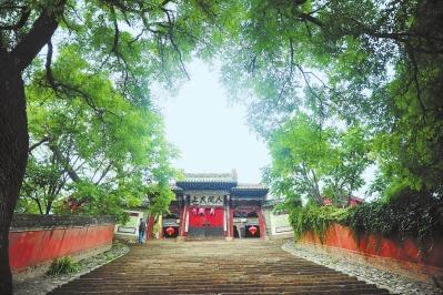 天水秦州八景之玉泉观