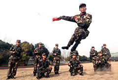 新兵达人秀 助训练兵场