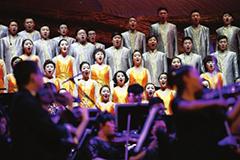 大型交响合唱团《敦煌》震撼首演
