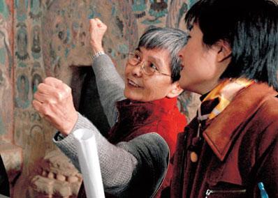 """樊锦诗:守护文化的""""敦煌女儿"""""""
