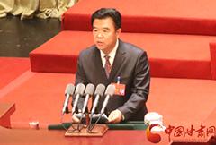 政协甘肃省十一届四次会议在兰开幕 黄选平作提案工作报告(图)