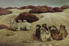 著名画家韦博文的画与人(图)