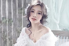 李小璐婚纱写真