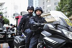 广州警方成立首支城市快速反应处突队